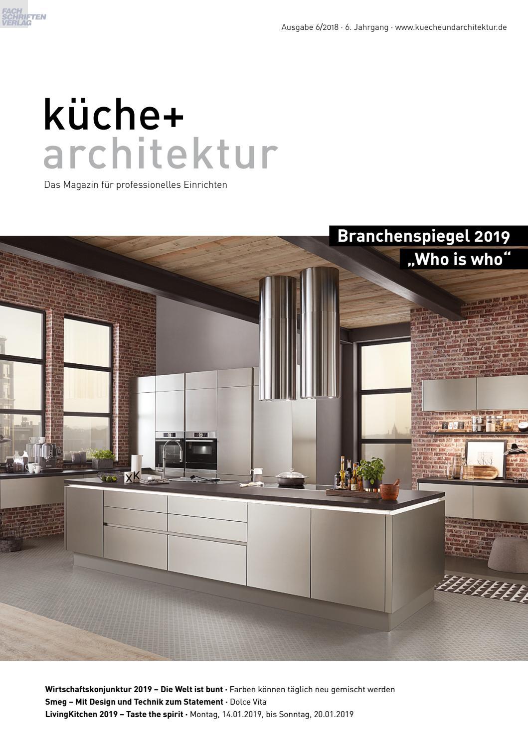 Kuche Architektur 6 2018 By Fachschriften Verlag Issuu