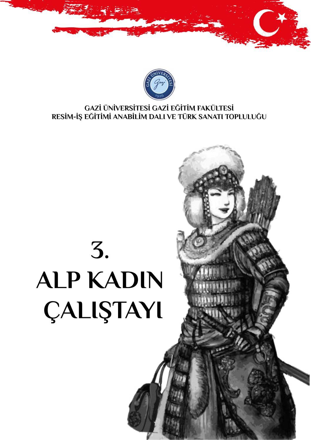3 Alp Kadin Calistayi By G U Gazi Egitim Fakultesi Resim Is Abd