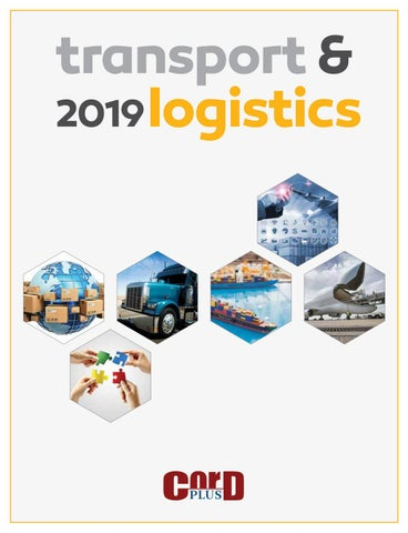 Transport & Logistics 2019 by CorD Magazine - issuu