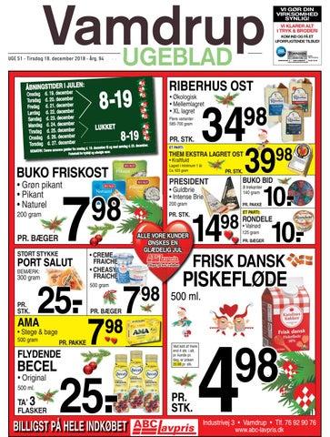 speciel sektion varmt salg online bedst sælge Uge 51 Vamdrup Ugeblad by Vamdrup Ugeblad - issuu