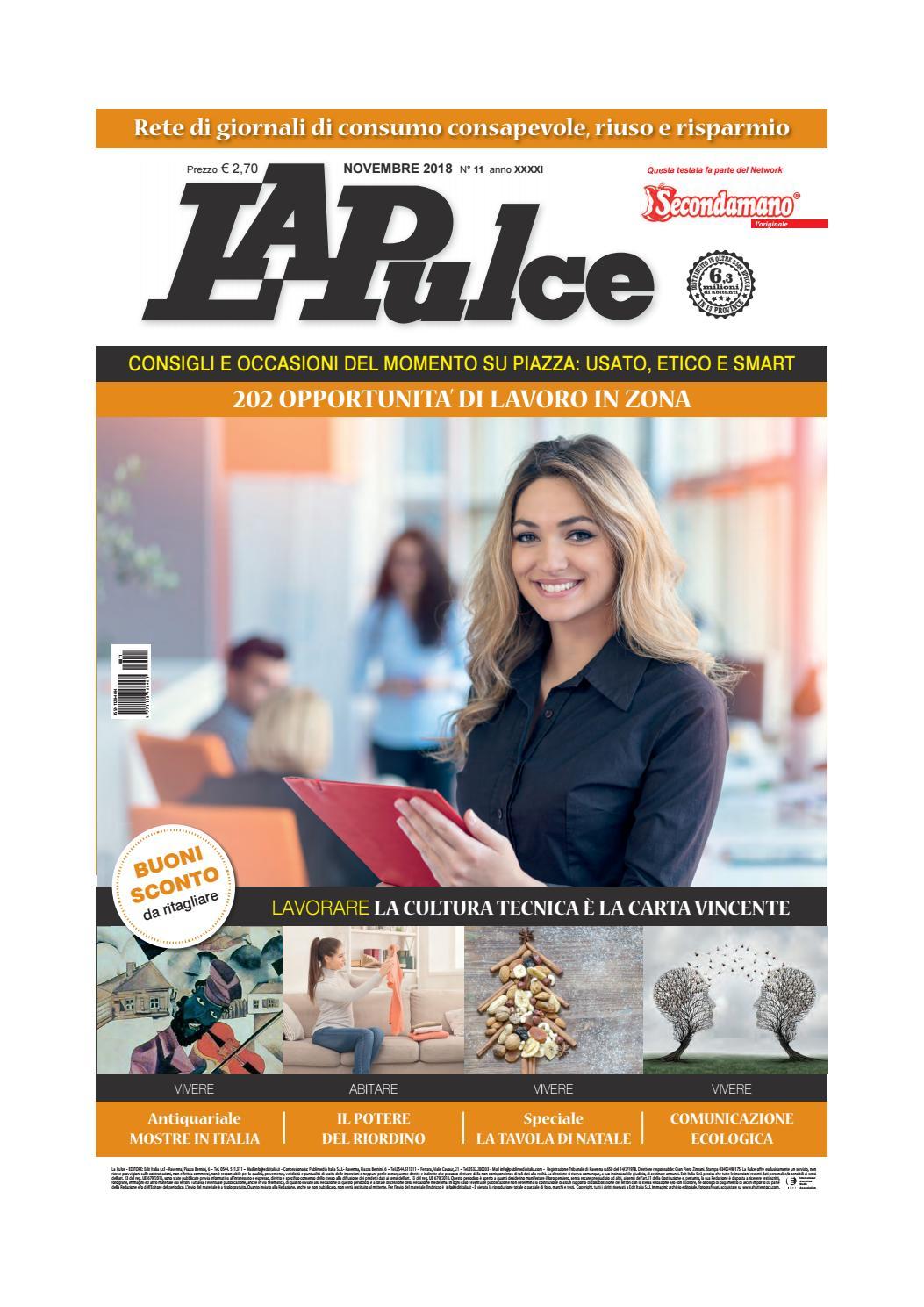 La Pulce novembre 2018 by Edit Italia S.r.l. - issuu f8249cf127a