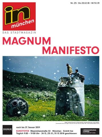 innovative design 10e19 d116e in münchen - Das Stadtmagazin, Ausgabe 25 2018 by InMagazin Verlags ...
