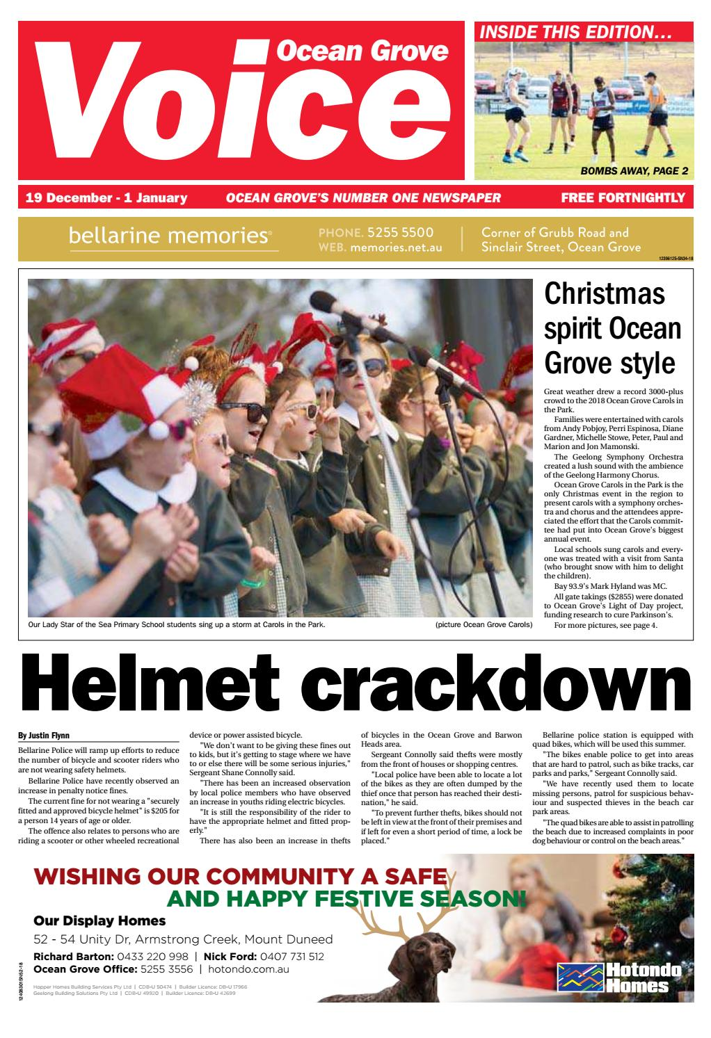687bc16585 Ocean Grove Voice - 19th December 2018 by Star News Group - issuu