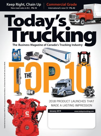 Today's Trucking January 2019 by Annex Business Media - issuu