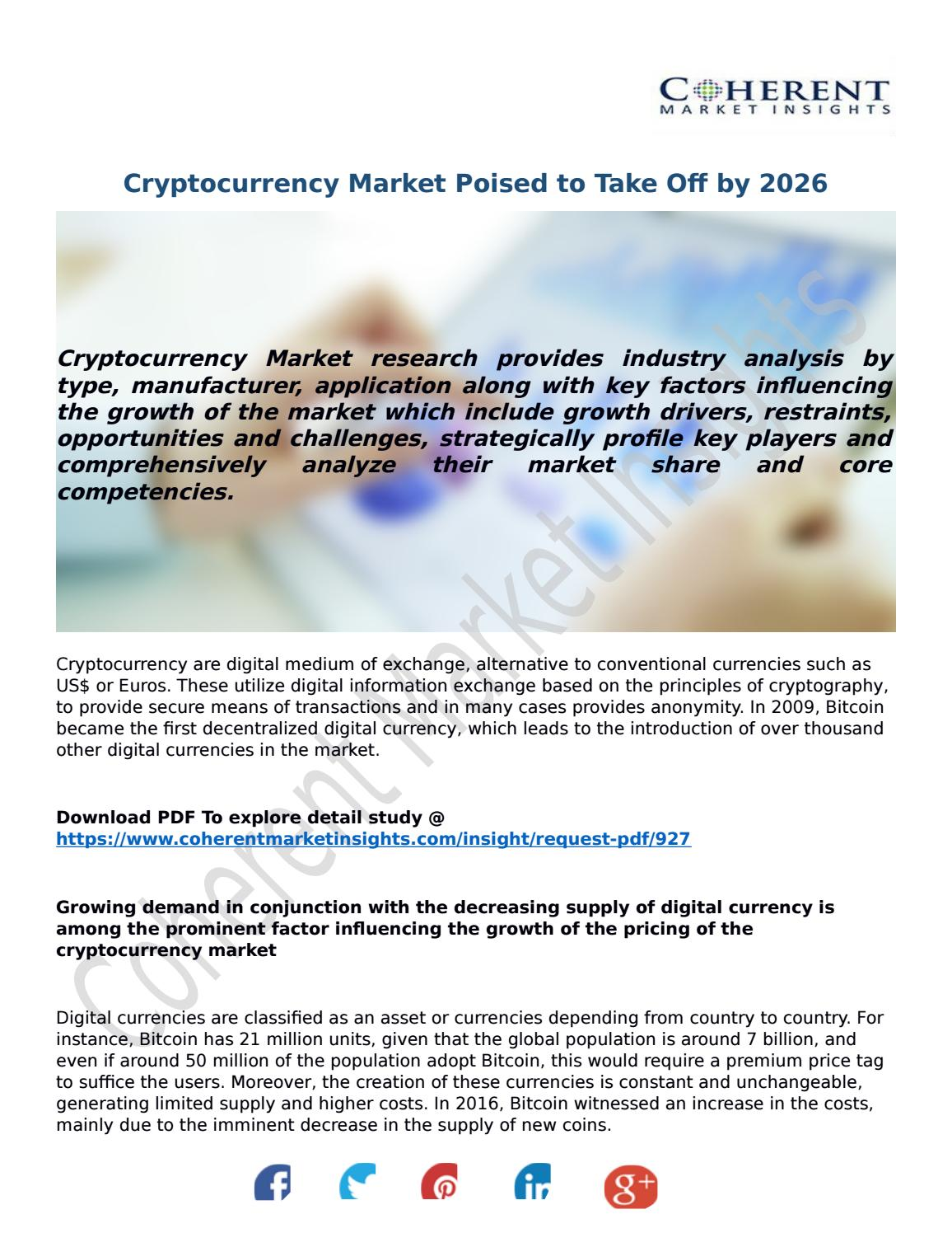 coherent market insights cryptocurrency mining