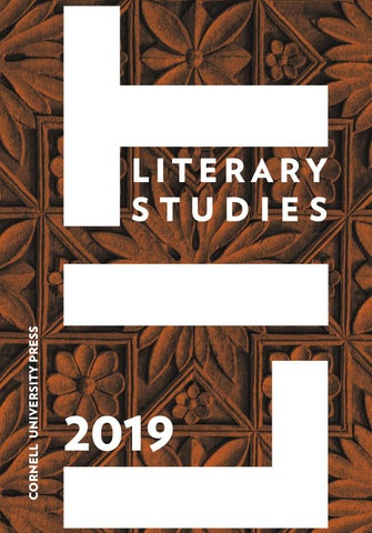 Cornell University Press Literary Studies Catalog 2019 by
