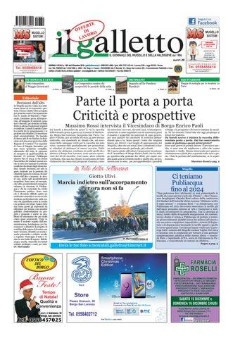 galletto 1381 dell 8 dicembre by Il Galletto Giornale - issuu b3962cb75e2