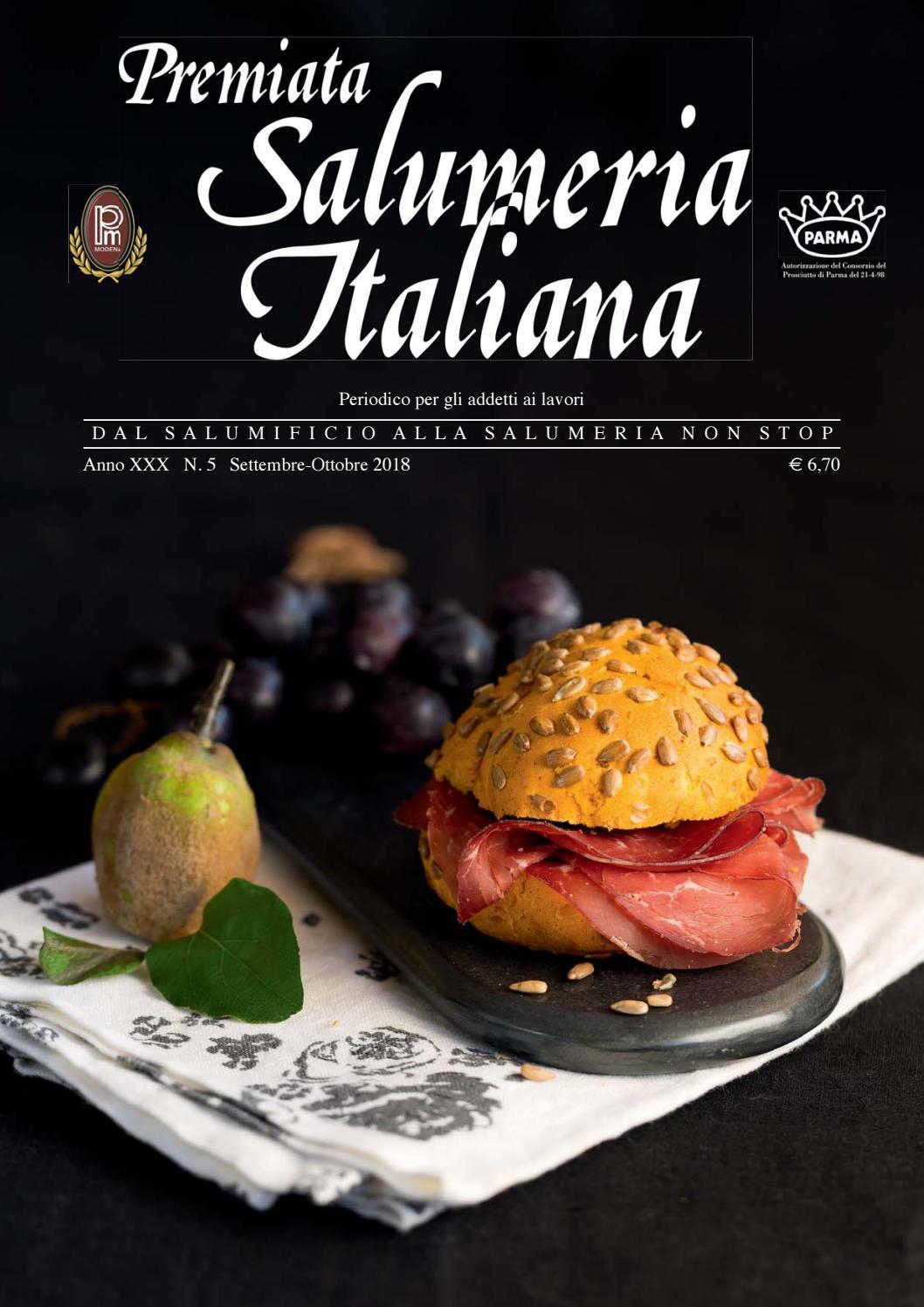 Premiata Salumeria Italiana 5-2018 by EDIZIONI PUBBLICITA  ITALIA - issuu a48efd905988