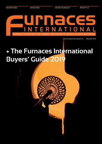 Furnaces International December 2018 + Buyers' Guide by Quartz ... on