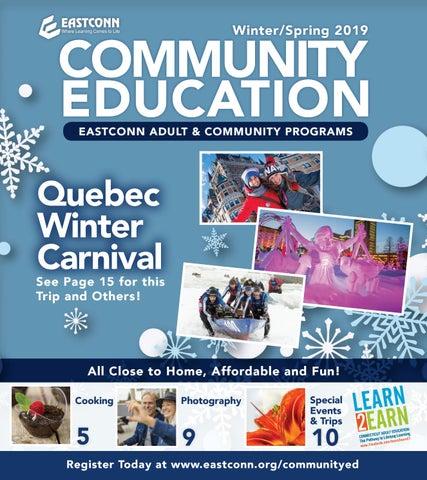 Community Education Winter/Spring 2019 by EASTCONN - issuu
