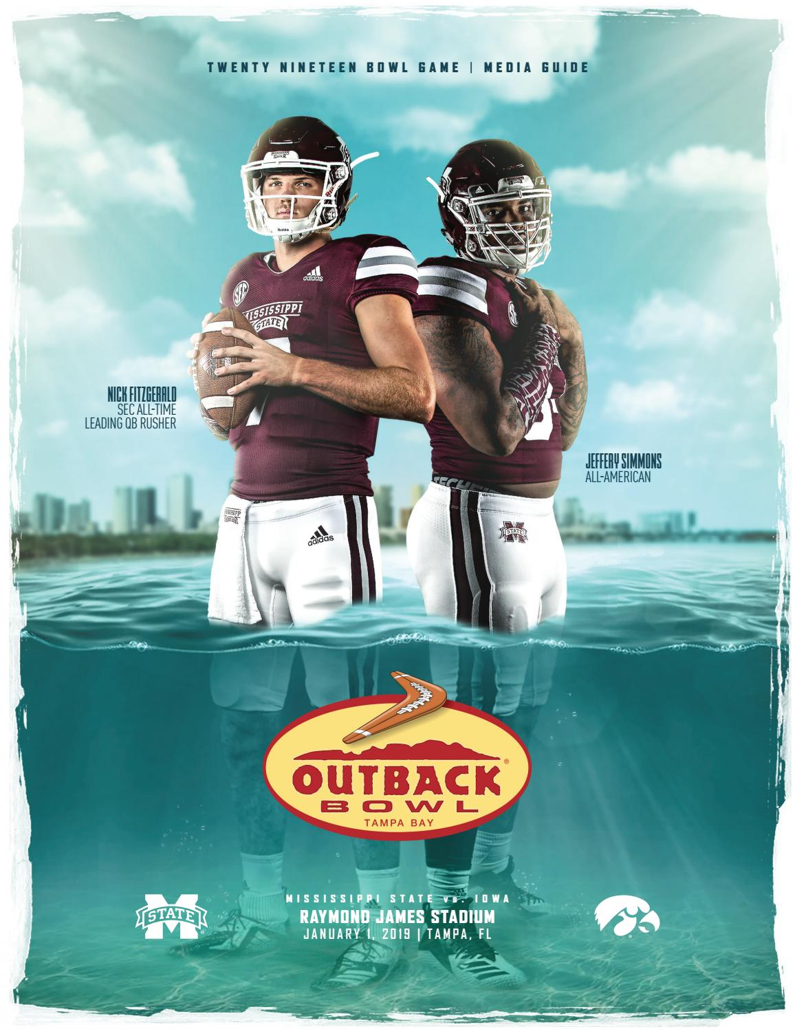 563ce91ac3a 2019 Mississippi State Football Outback Bowl Media Guide by Mississippi  State University Athletics - issuu