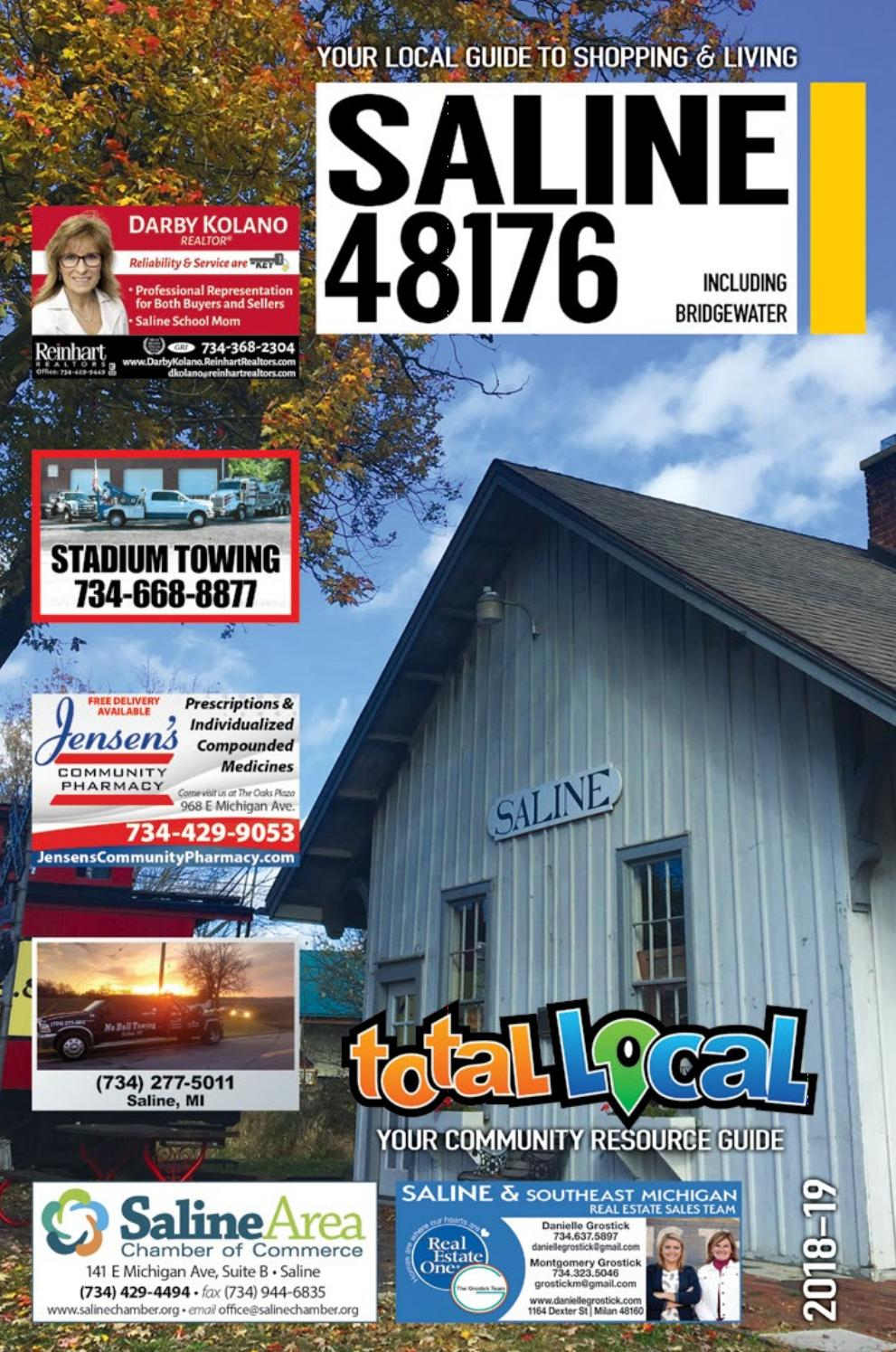 Total Local 2018 19 Saline Mi Community Resource Guide By Total