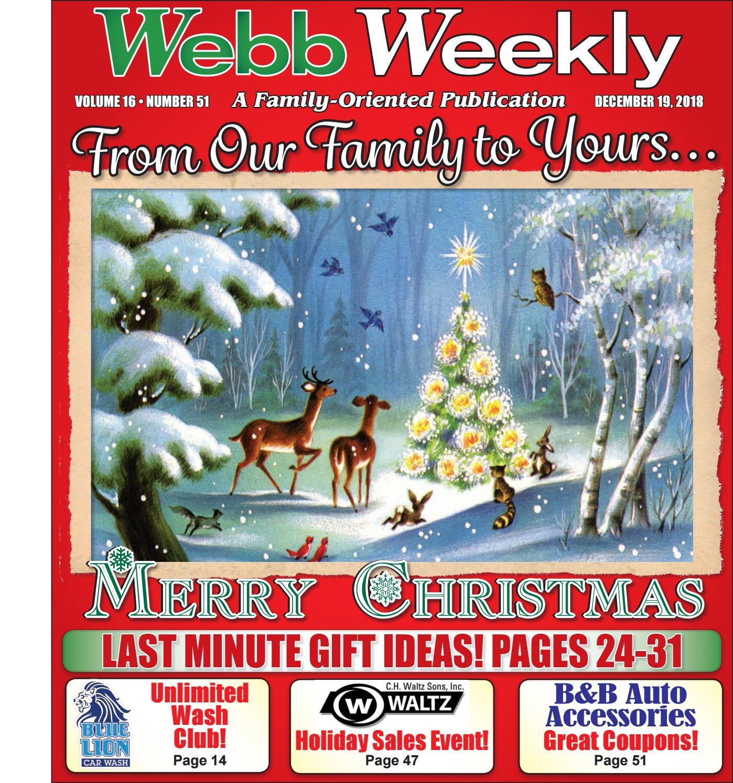 Webb Weekly December 18 2018 By Webb Weekly Issuu