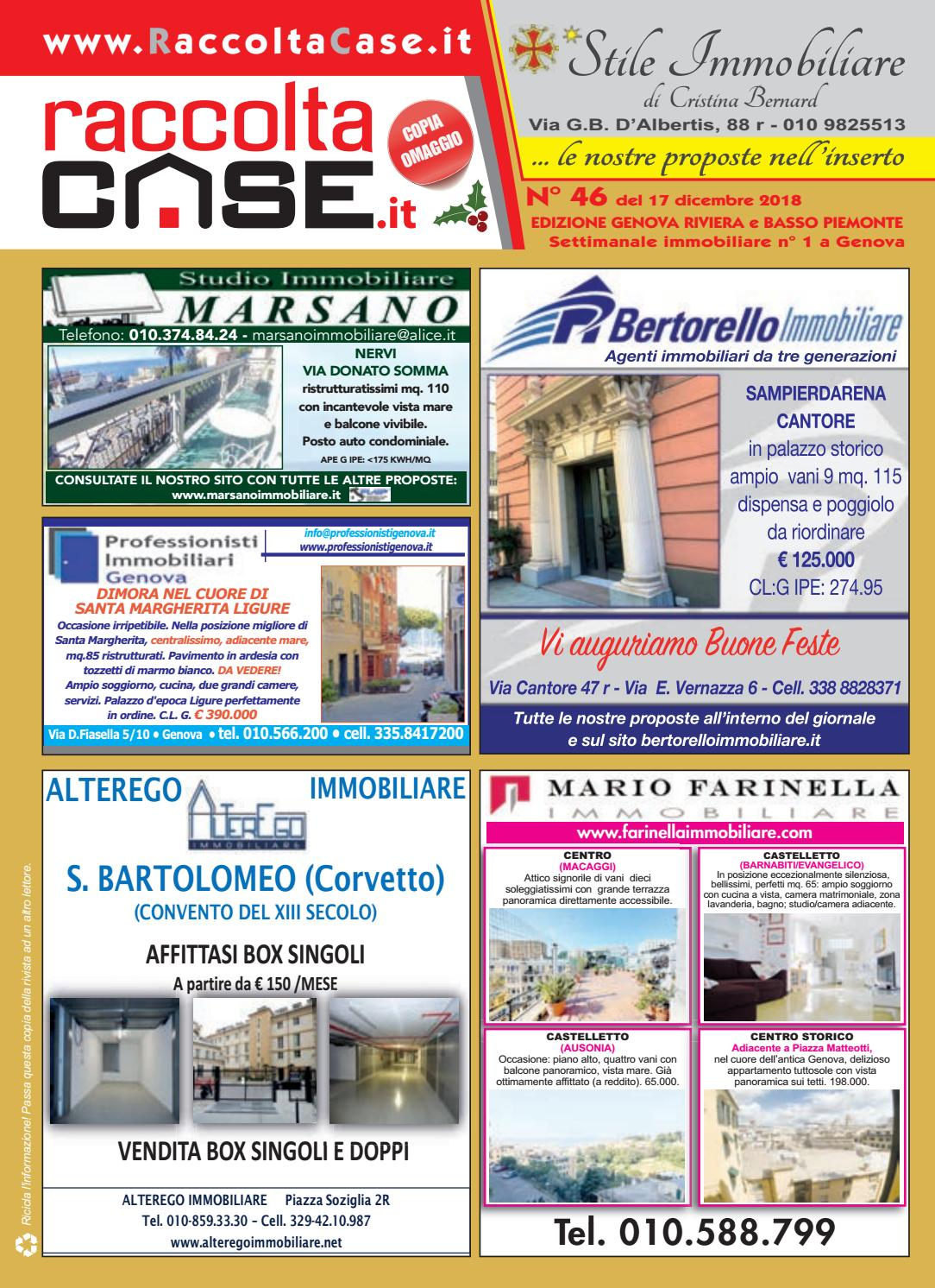 Raccoltacase Genova 46 - 2018 by Publidok S.r.l. - issuu