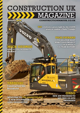 7a8ab9d91cf Construction UK Magazine - January 2019 by Lapthorn Media - issuu