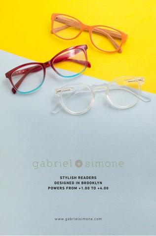 Gabriel Simone Nanette Purple Tortoise Women Reading Glasses