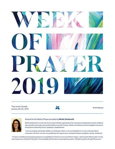 Week of Prayer 2019 by Mennonite Brethren publications - issuu