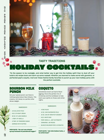 Page 14 of Holiday Cocktails