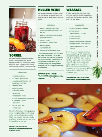Page 15 of Holiday Cocktails