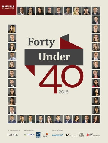 Forty Under 40 2018   Business in Vancouver
