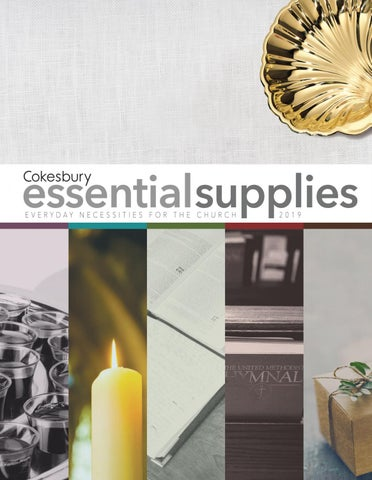 Cokesbury Essential Supplies 2019 Catalog by United