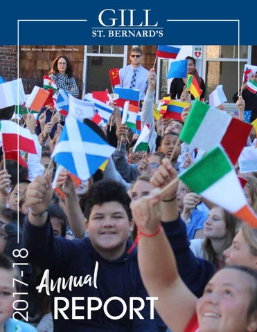 GSB Annual Giving Report (2017-18) by Gill St  Bernard's