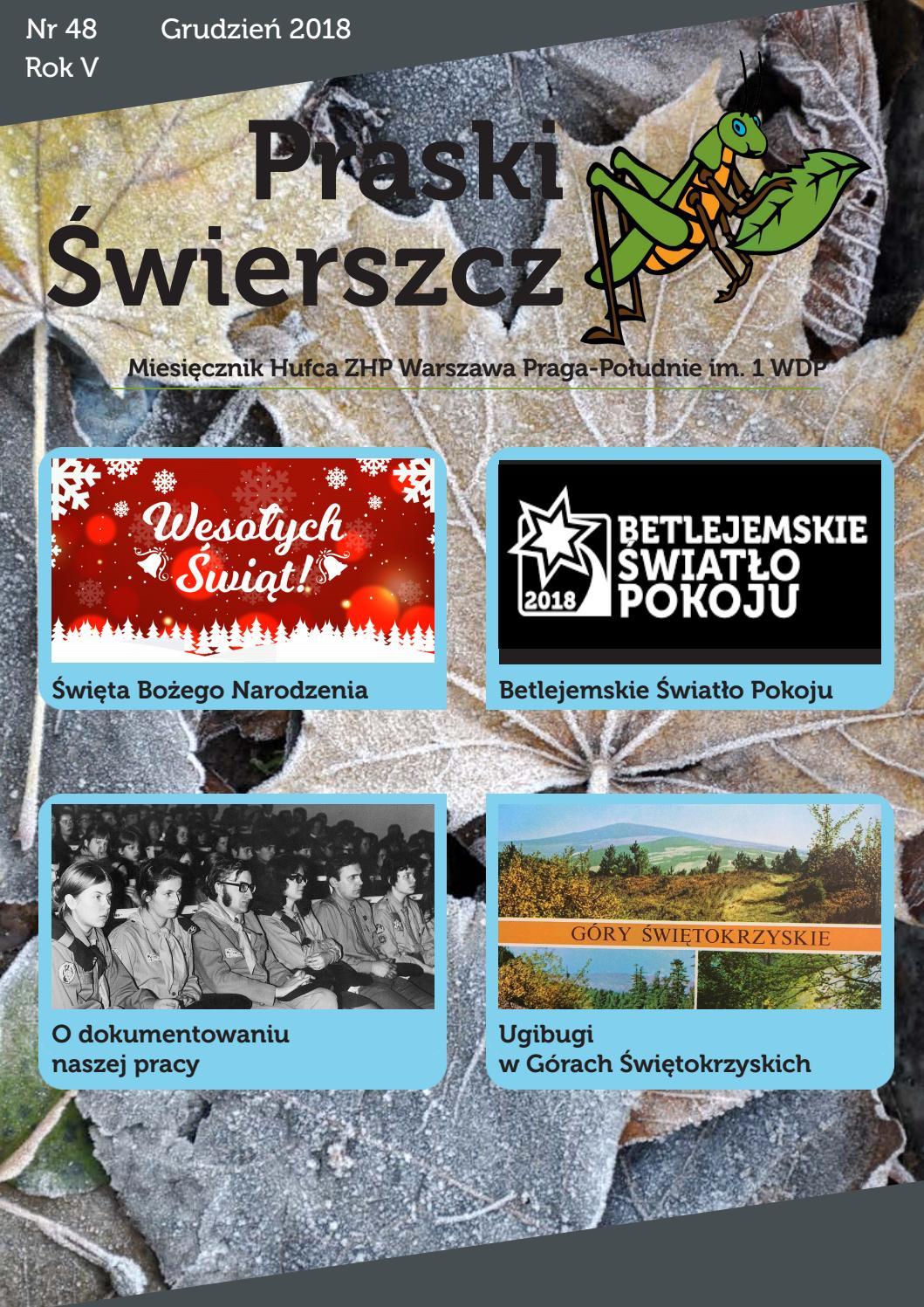 Praski świerszcz Nr 48 By Zhp Praga Południe Issuu