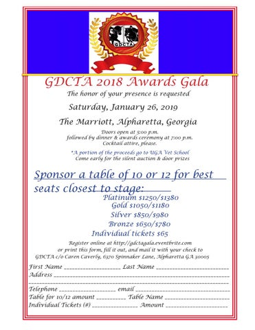Page 21 of GDCTA Awards Gala