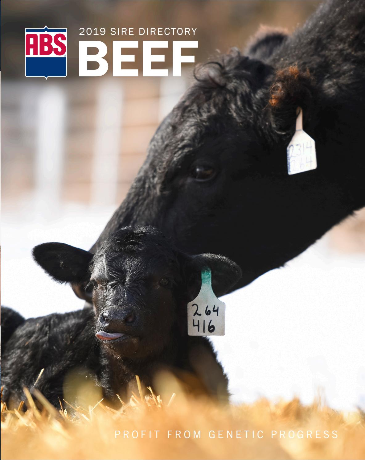 2019 US Beef Sire Directory by ABS Global, Inc  - issuu
