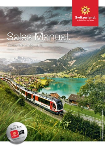 Swiss Travel System Sales Manual 2019 English By Swiss Travel