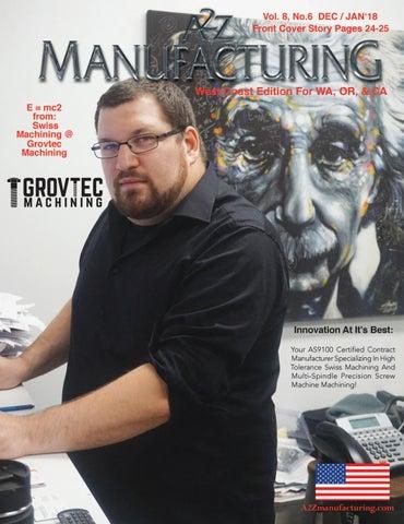 A2Z MFG Magazine West Coast Dec-Jan 2018-19 WC by A2Z Manufacturing