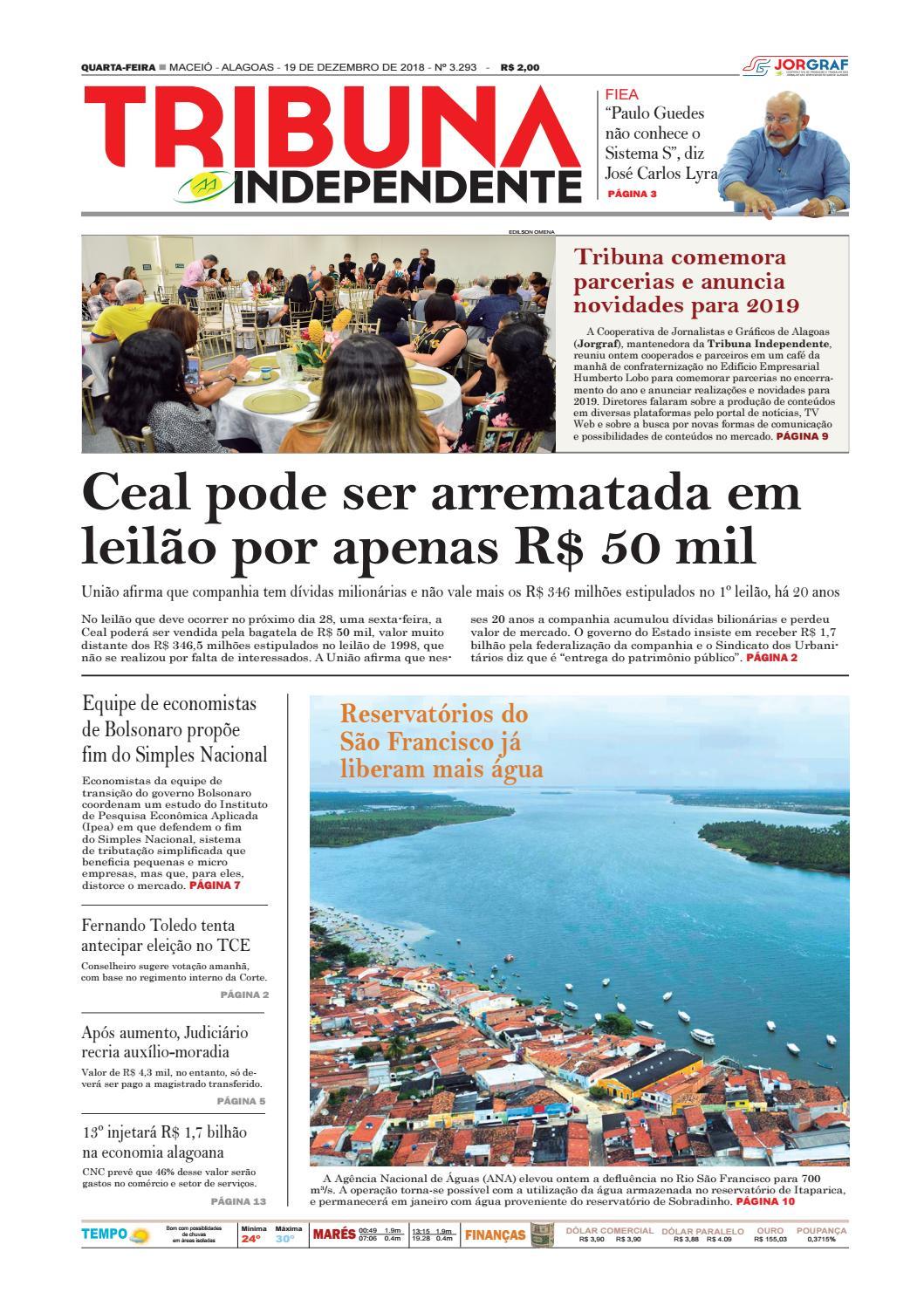 Edição número 3293 - 19 de dezembro de 2018 by Tribuna Hoje - issuu 41b0d9dc1545a