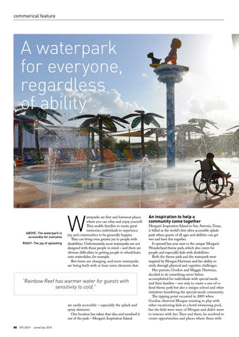 Page 88 of A waterpark for everyone, regardless of ability