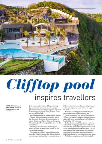 Page 94 of Clifftop pool inspires travellers
