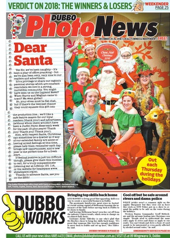 Dubbo Photo News 20 12 2018 by Panscott Media - issuu