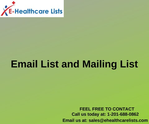 Email Lists | Mailing Lists | List of Business Emails