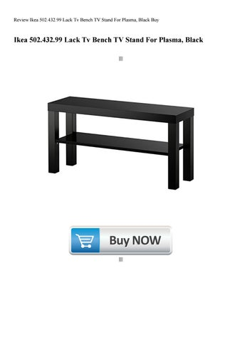 Terrific Review Ikea 502 432 99 Lack Tv Bench Tv Stand For Plasma Gamerscity Chair Design For Home Gamerscityorg