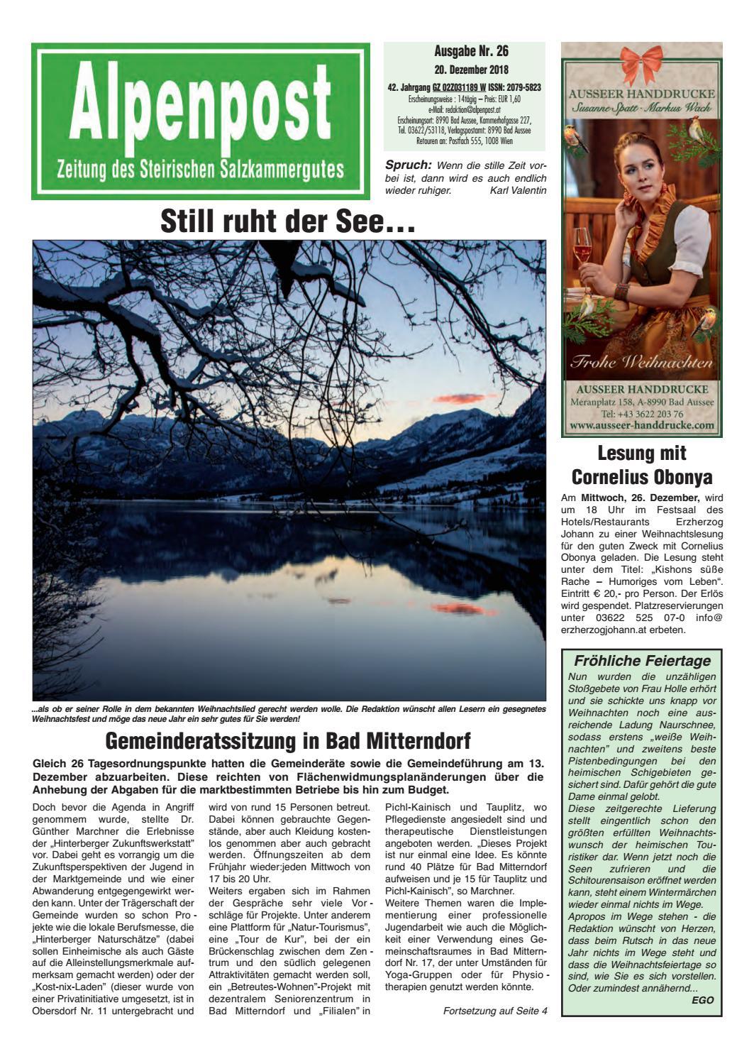 Singles aus Bad Aussee kennenlernen LoveScout24