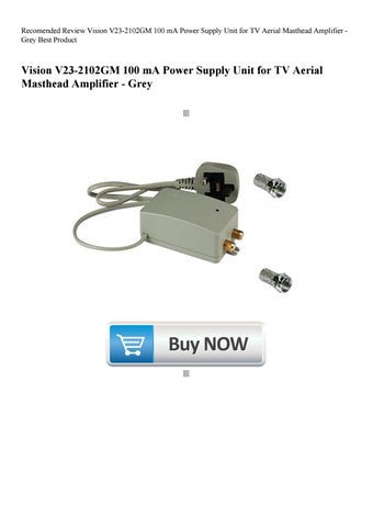 Recomended Review Vision V23-2102GM 100 mA Power Supply Unit for TV