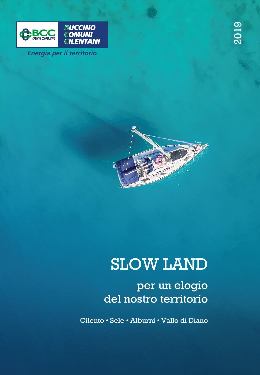 Calendario Buccino.Slow Land Per Un Elogio Del Nostro Territorio Calendario