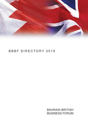 BBBF 2019 Annual Directory by Andrew Mead MBE - issuu