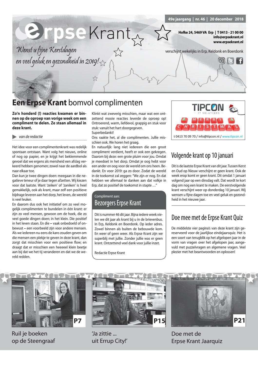 432c417c083 Erpse Krant 2018 - editie 46 by Erpse Krant - issuu