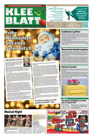 Weihnachtsgedichte Geschäftskunden.Kleeblatt 19 12 2018 By Kleeblatt Verlag Issuu