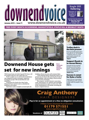 Downend Voice January 2019 By Gary Brindle Issuu