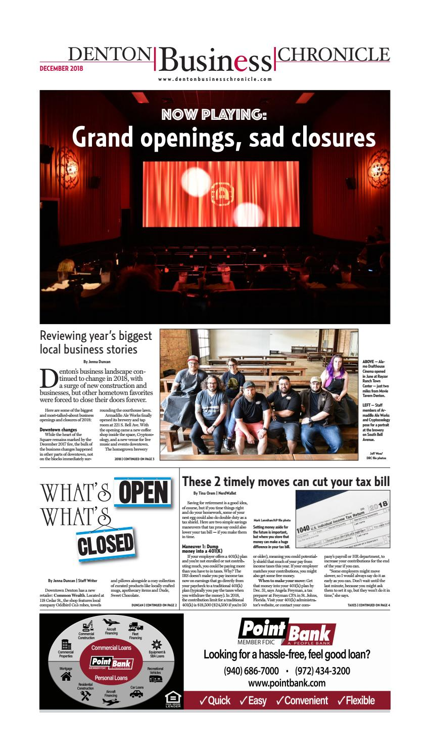 64d4251d138 December Denton Business Chronicle by Larry McBride - issuu
