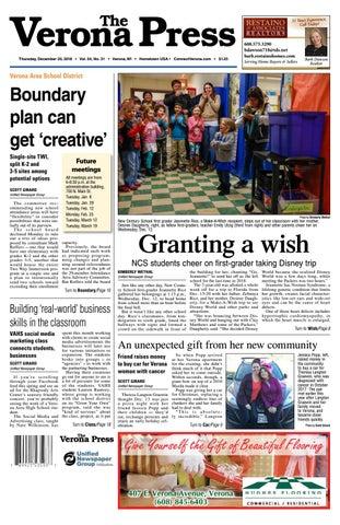 12/20/18 Verona Press by Woodward Community Media - issuu
