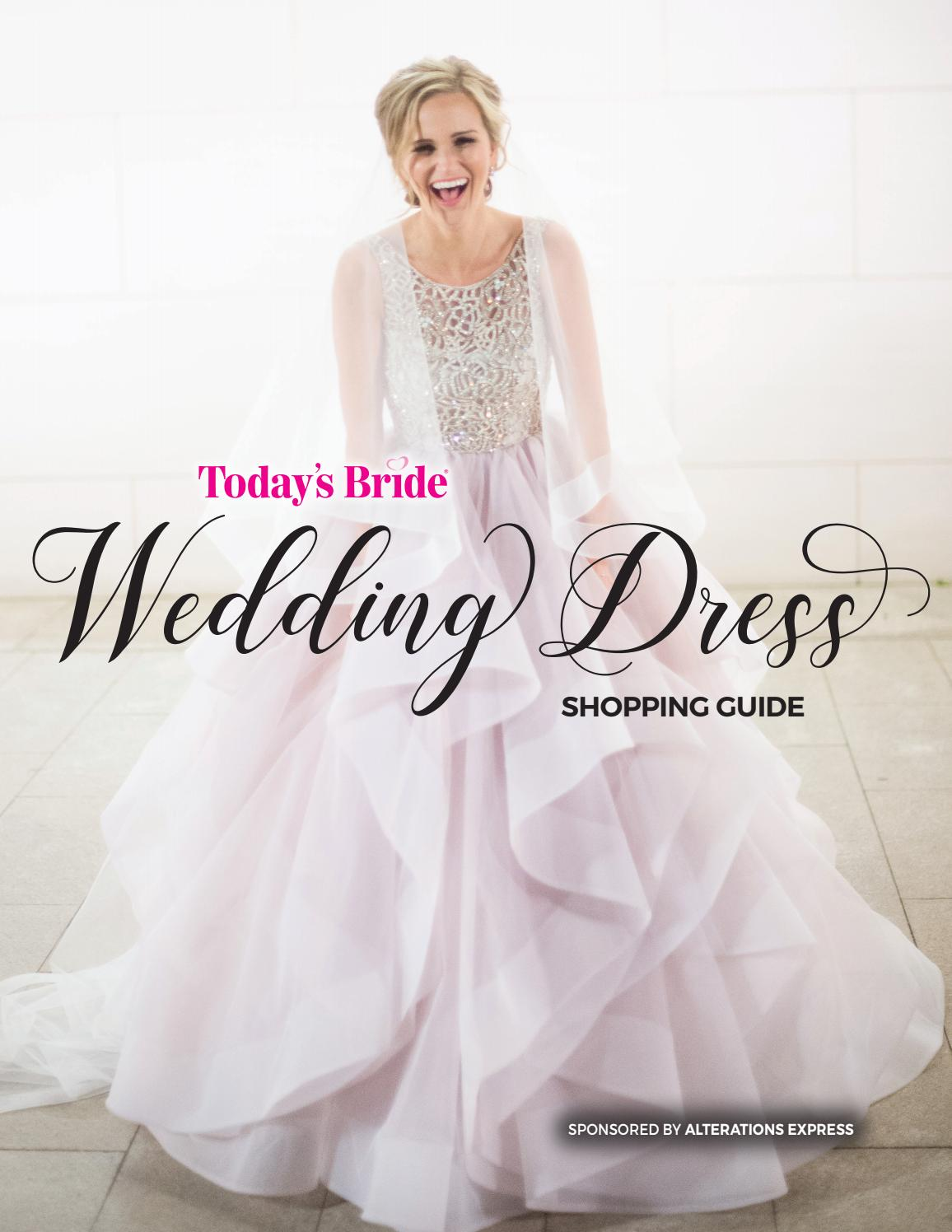 Today S Bride Wedding Dress Fit Guide By Today S Bride Magazine