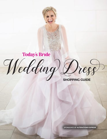 df40ae52ff7 Today s Bride Wedding Dress Fit Guide by Today s Bride Magazine ...