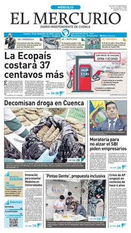 e89f45d9c1865 Hemeroteca-19-12-2018 by Diario El Mercurio Cuenca - issuu