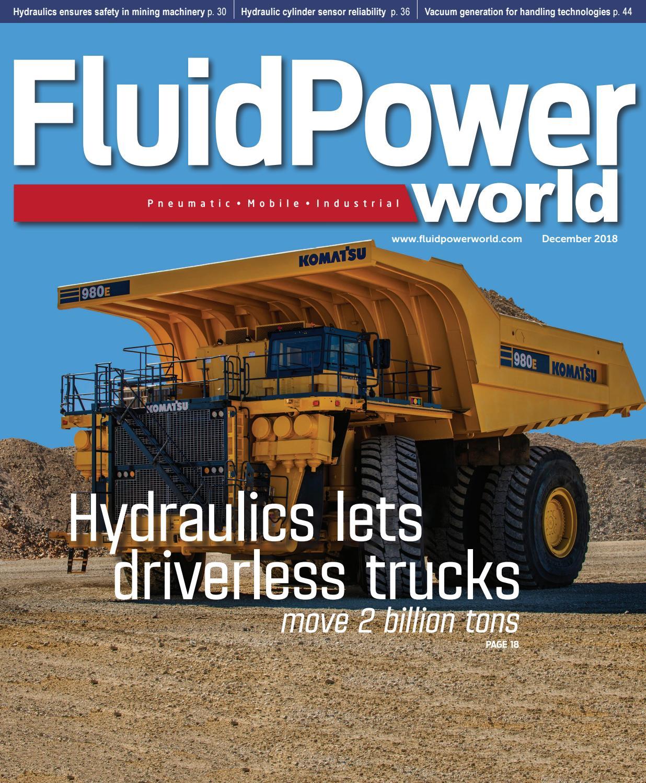 FLUID POWER WORLD DECEMBER 2018 by WTWH Media LLC - issuu on